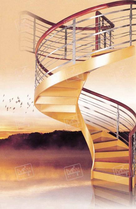 实木楼梯,玻璃楼梯,铝镁楼梯