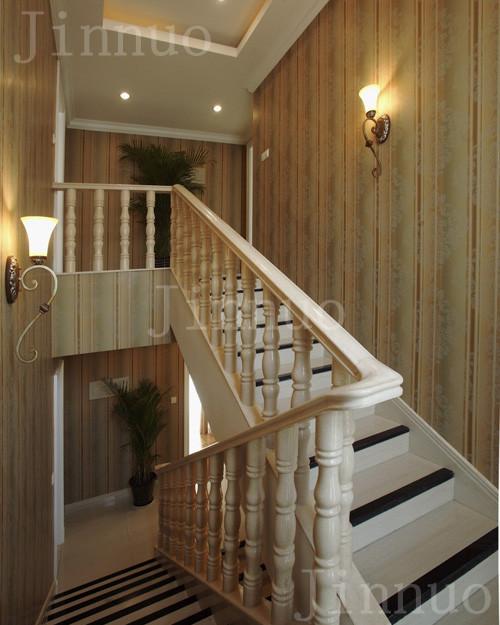 实木楼梯,木门,橱柜,护墙板图片