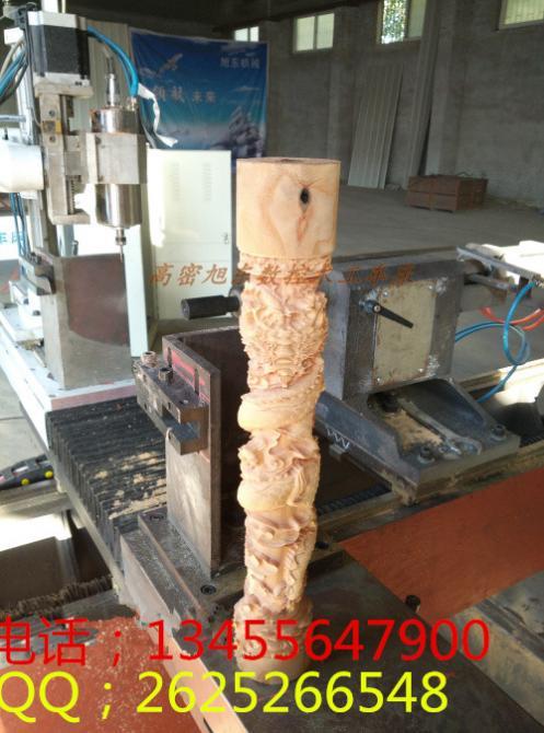 单轴多功能数控木工车床小型木工雕刻机价格木工车床