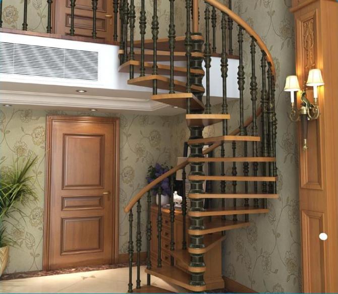 旋转楼梯定制,西方欧式旋转楼梯,耐用旋转楼梯,yd-lhjx图片,成品楼梯